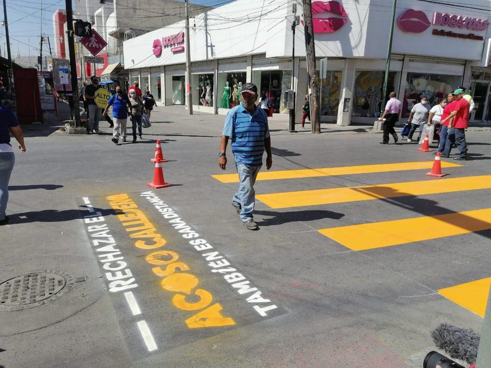 Rechazar el acoso callejero también es sana distancia